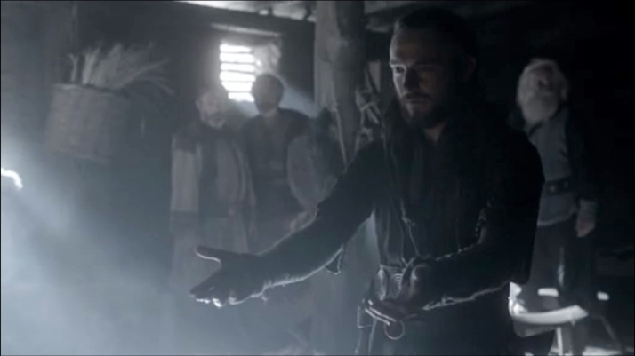 athelstan's hands are covered in blood