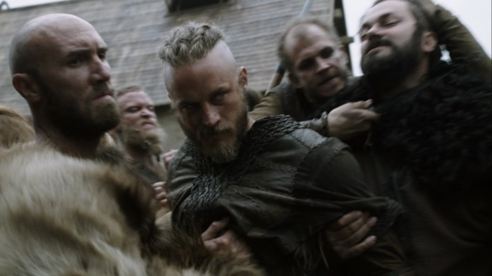 facing arrest ragnar says for your wife siggy would you not have done the same