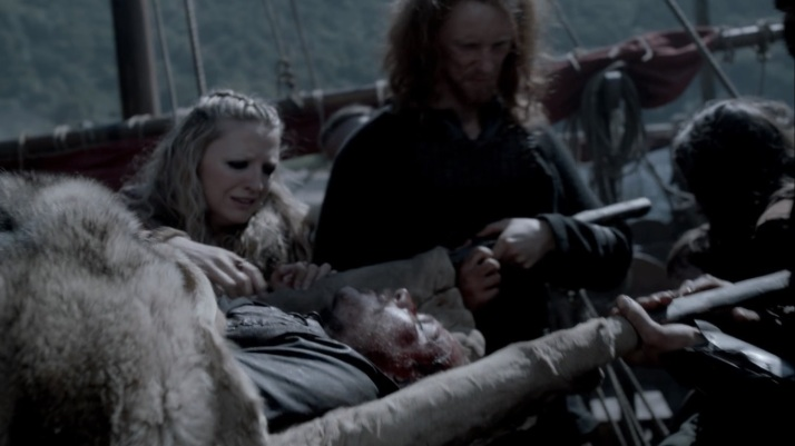 floki brought home to helga