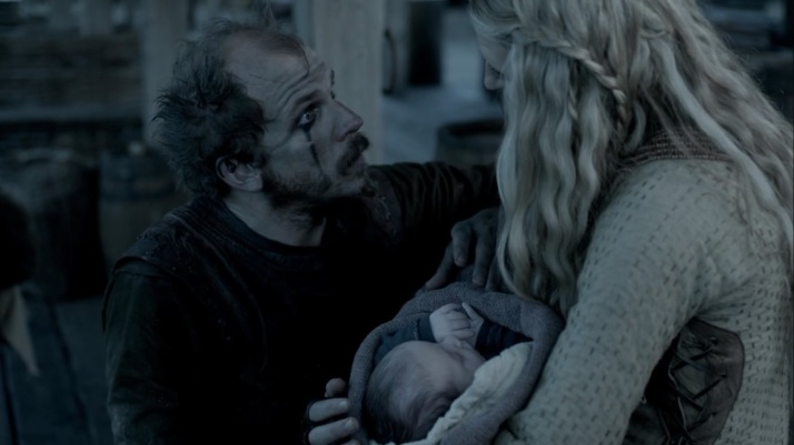floki meets his daughter