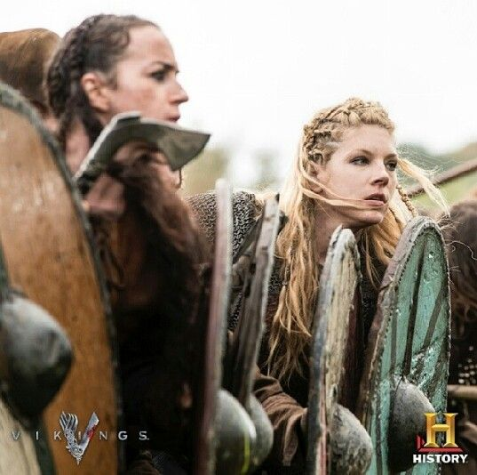 lagertha and shieldmaidens