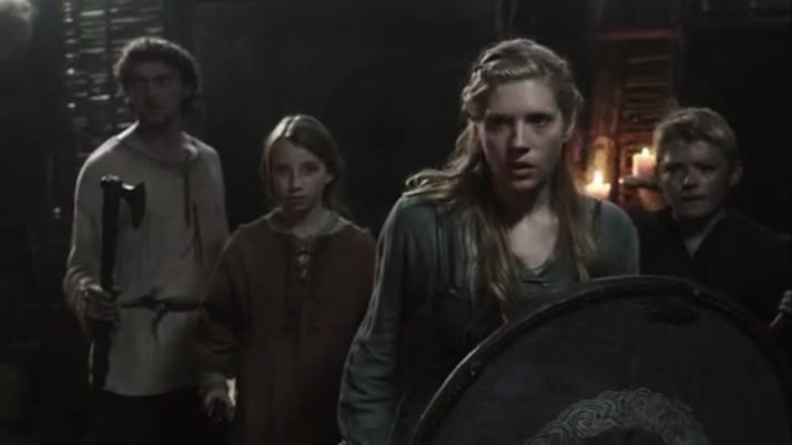 lagertha leads her family Stay strong be ready
