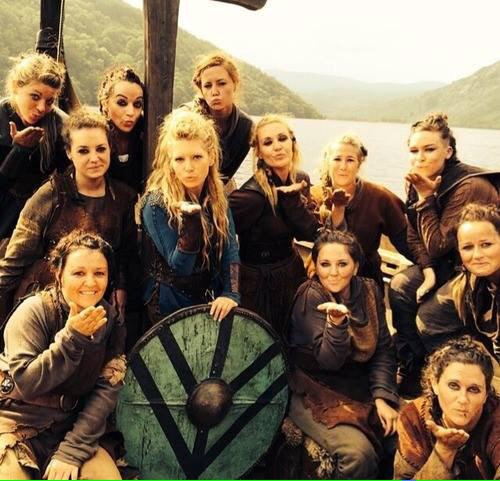 lagertha with her maidens
