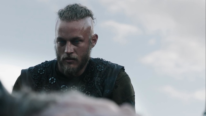 pointing to ragnar he gives the order to Kill him