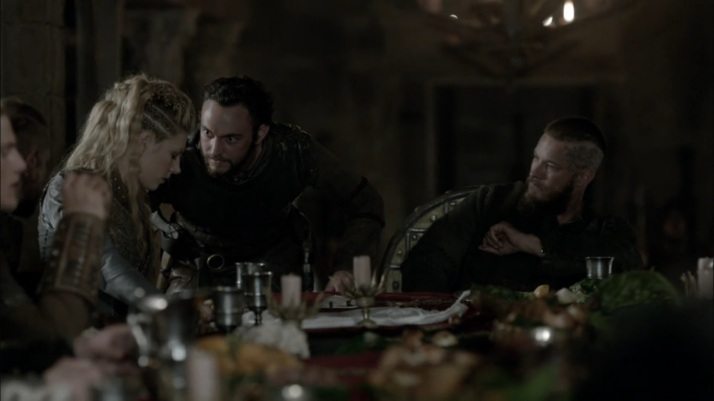 ragnar is suspicious now   ahhhh yes, here it comes