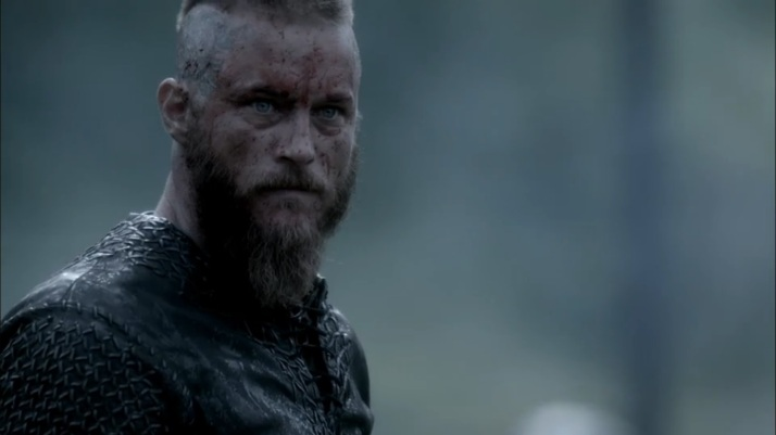 ragnar sees bjorn with porunn and is really pissed