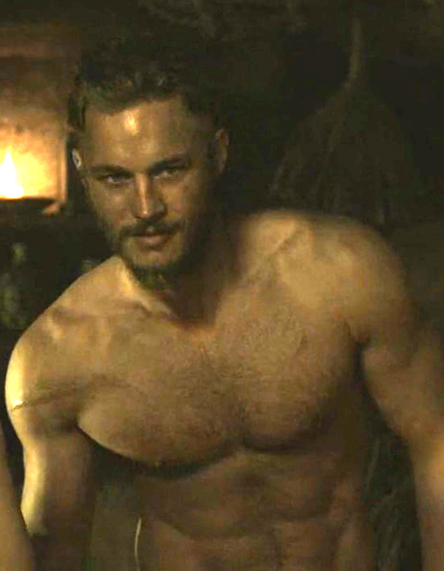 travis fimmel shirtless vikings
