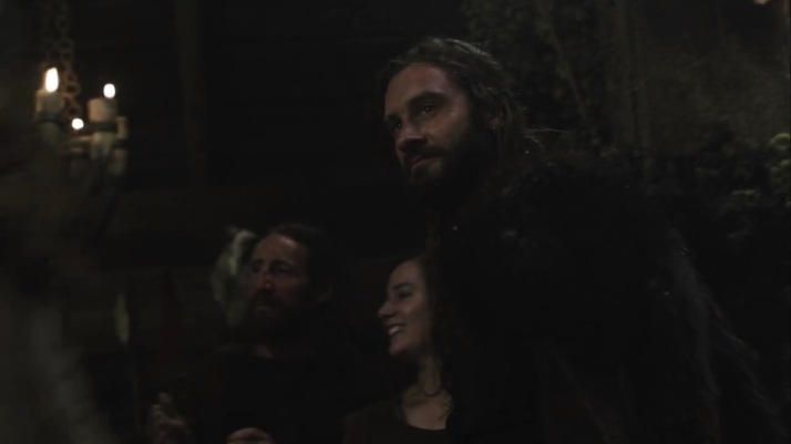 rollo shows up at the wedding feast