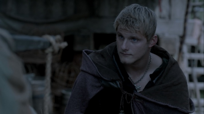 sit and talk to me it is alright I am the son of Ragnar