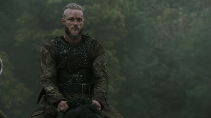 staring at his hard won treasure Ragnar little realizes what he has lost in return for it
