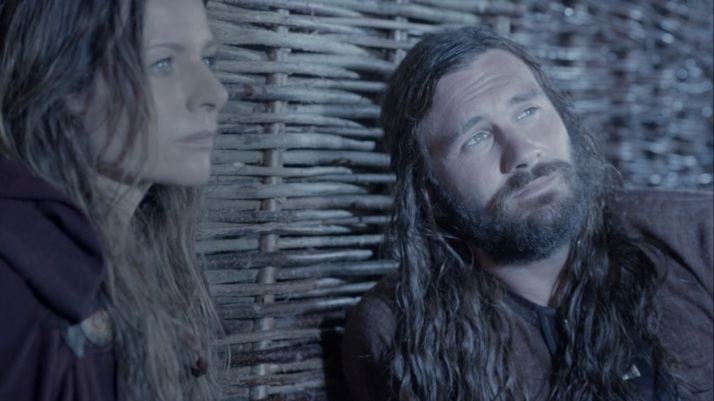 This new Rollo does not love lagertha or suffer from desire for her