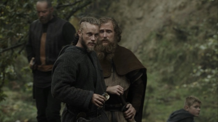 yes ragnar is in danger from himself and from temptation