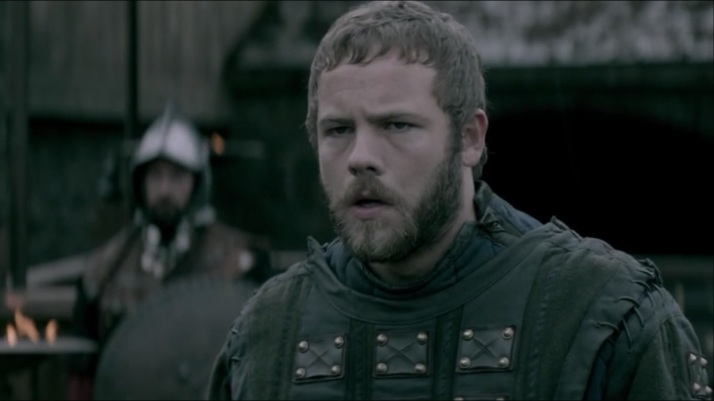 a dazed and confused Aethelwulf on hearing his wife has been chosen by god