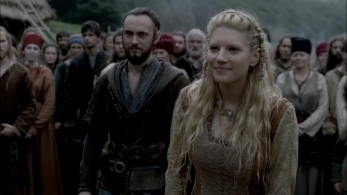 a smug lagertha shows her language skill Yes I know more now than I already knew