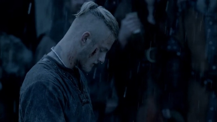 bjorn feel his own deep grief at what is happening to rollo