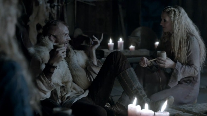 floki being sarcastic about going back to england to work for a christian king