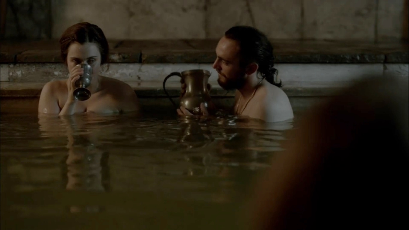 athelstan and judith in vikings