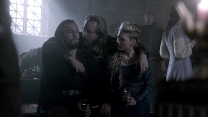 perhaps athelstan will stay   Will you  ohhh please say yes don't leave me this way