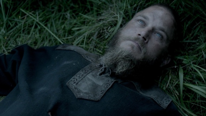 ragnar in pain from his own injury