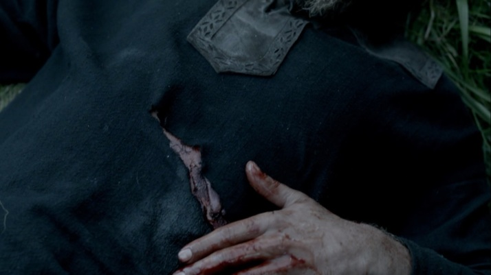 ragnar's battle wound