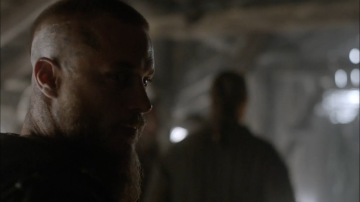 ragnar's look to lagertha you stay out here and don't make any more trouble
