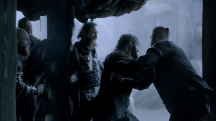 Rollo and Bjorn fight for life and for death