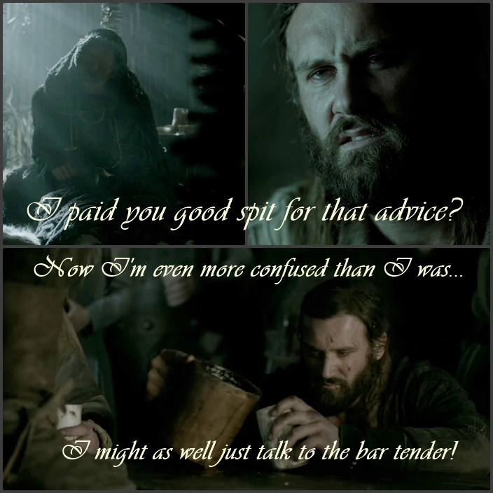 Rollo and the Seer  I paid you good spit for that advice