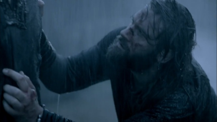 rollo clings to bjorn in a last plea for death