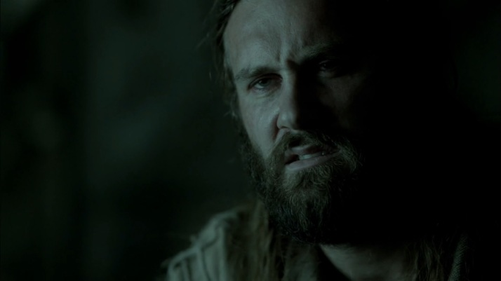 Rollo is as confused as Ragnar by the Seer's prophecy