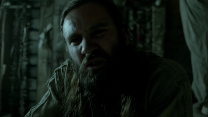 Rollo pours his heart out to the Seer  Ragnar is always the chosen one by Mother Father by Lagertha