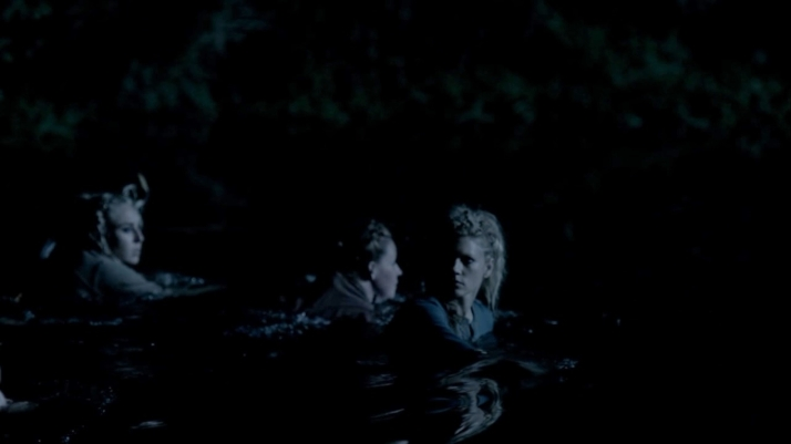 a covert night mission led by lagertha