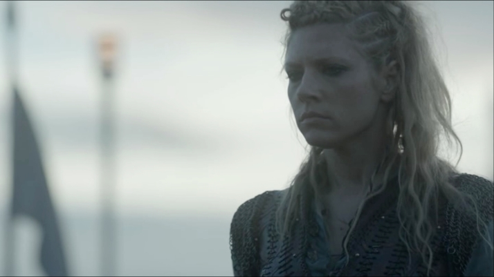 a grim look from lagertha does not bode well for her feelings about this