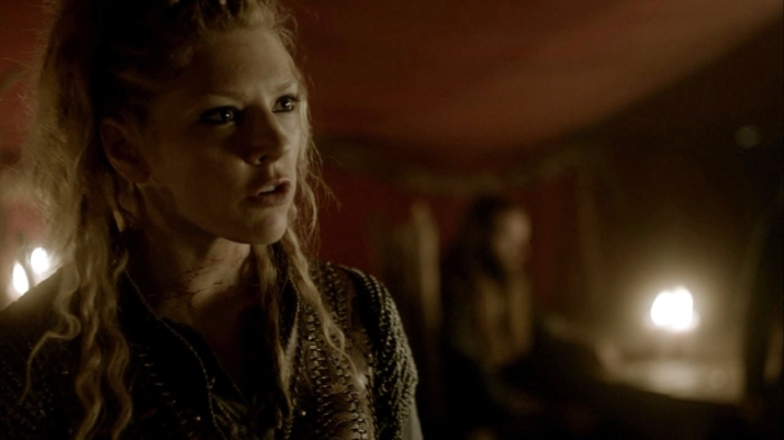 back at camp people are pissed  Lagertha puts it bluntly why did you not tell us earlier did you not trust any of us