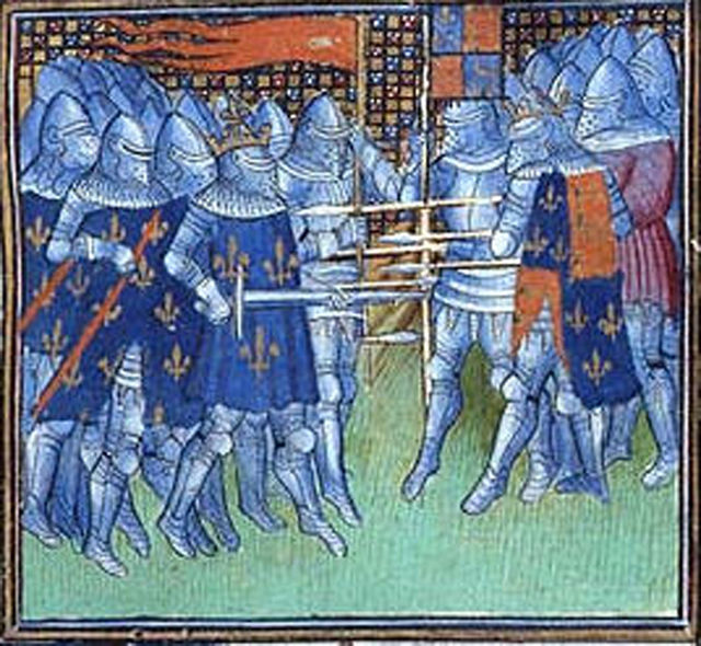 Battle_of_Poitiers oriflamme