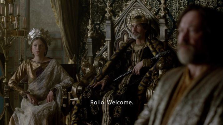charles welcomes rollo