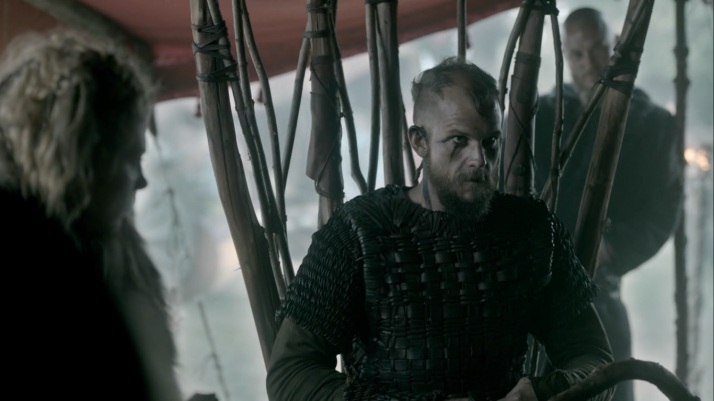 floki pretends to be in charge  All those who agree say Aye