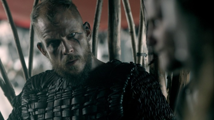 floki still looks confused and flustered throughout the discussion