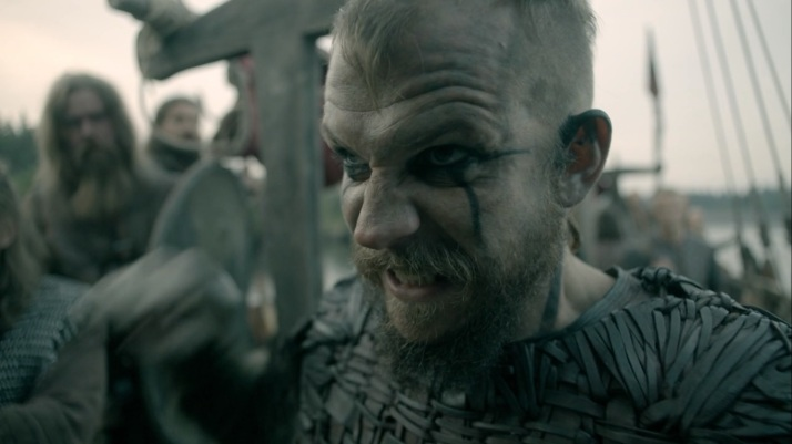 floki summons his inner berserker