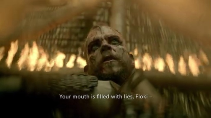 floki talks to himself