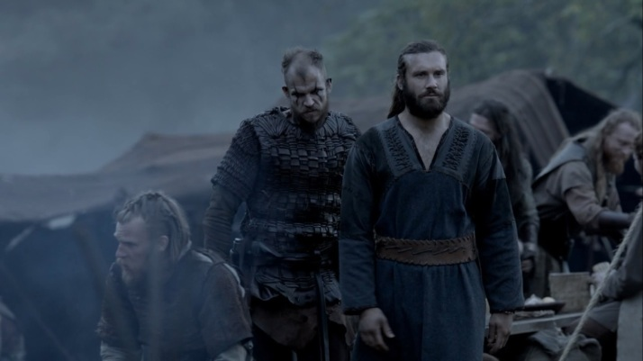 floki talks to Rollo of Ragnar's betrayal and how it is Athelstan's fault
