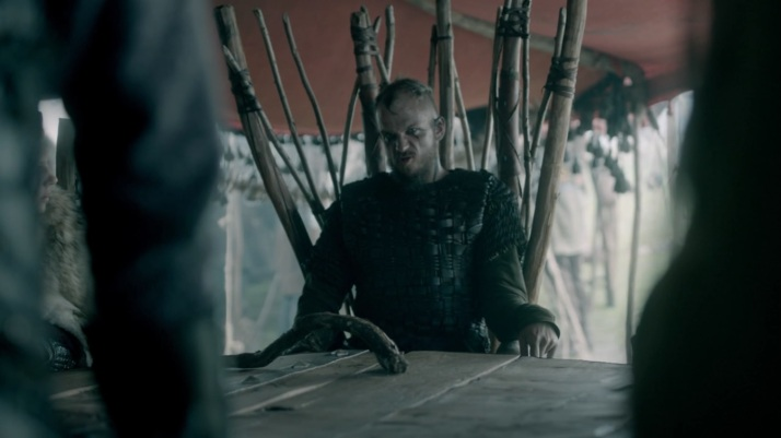 Floki  The King my oldest friend has asked me to take command