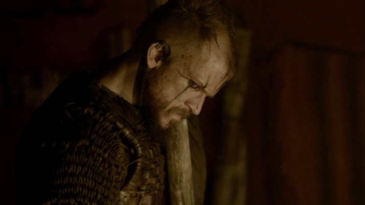 floki volunteers to stay... why because he does not want to get on a boat for a long trip home with ragnar