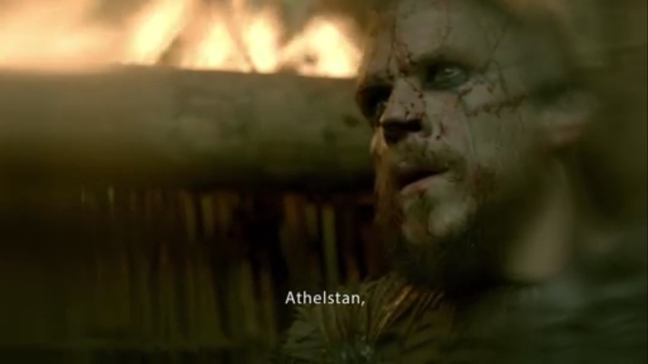 Floki's first thought is to blame Athelstan for all of it