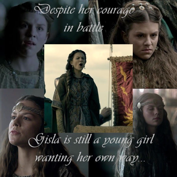vikings what does the future hold for rollo and gisla time slips