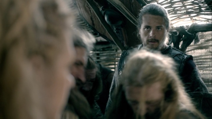 Kalf being patient letting Lagertha lead but....