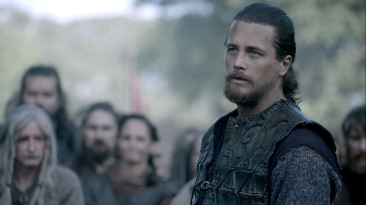 Kalf tries to remain unphased and calm through Ragnar's tirade