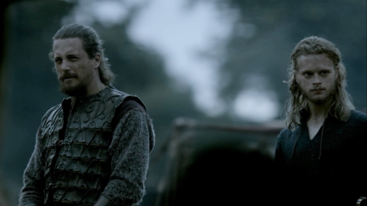 Kalf's response to Ragnar's baptism  I hope it is true because no Christian King will ever be allowed to rule the vikings
