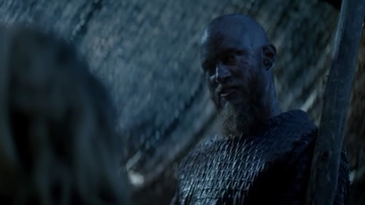 Lagertha asks what happened and ragnar answers he was proving that he is a leader of men without the title