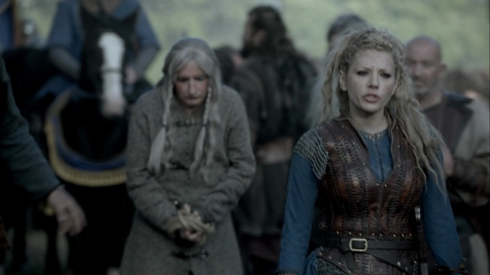 Lagertha is disgusted  Why should we negotiate with them