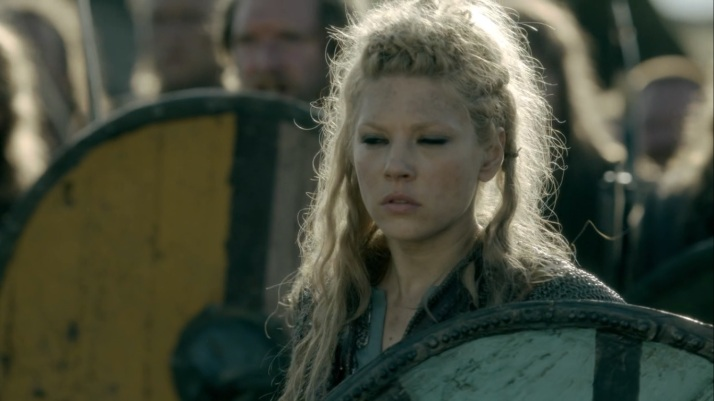 Lagertha takes a moment to think things through